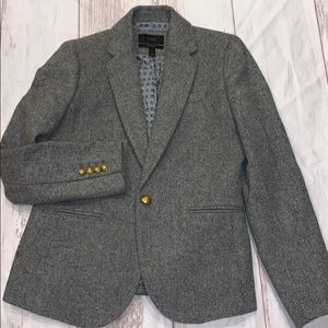 J. Crew Collection Campbell Donegal Wool Blazer
